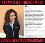 FERMATI O TI FINISCE MALE: CONSIGLIERA M5S MINACCIATA, di GiancarloCancelleri