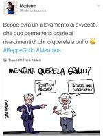 Mentana v. Grillo: La Vignetta DiMarione