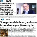 Pittella (PD) condannato