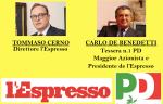CERNO-DE BENEDETTI: l'Espresso PD