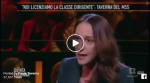 (VIDEO): Paola Taverna a QUINTA COLONNA (16.1)