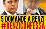 RENZI DEVE RISPONDERE A QUESTE CINQUE DOMANDE, di Luigi DiMaio