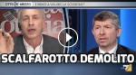 (VIDEO): TRAVAGLIO DEMOLISCESCALFAROTTO