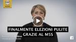 (VIDEO): FINALMENTE ELEZIONI PULITE GRAZIE ALM5S