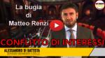 Le bugie di Renzi sul conflitto d'interessi