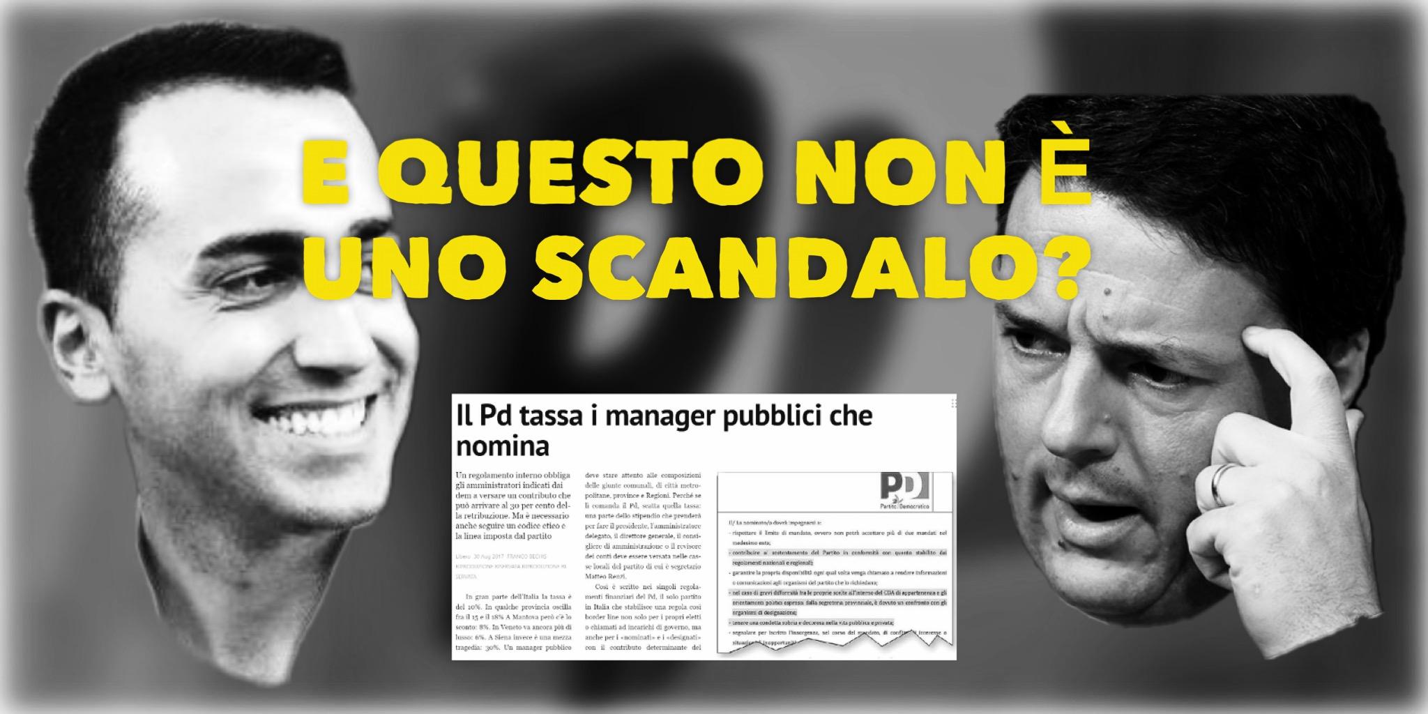 Il PD Tassa i Manager Pubblici Che Nomina